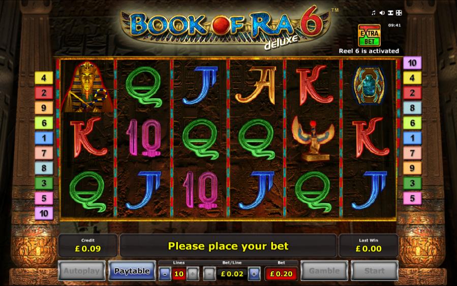 Jocuri De Noroc Book Of Ra Online